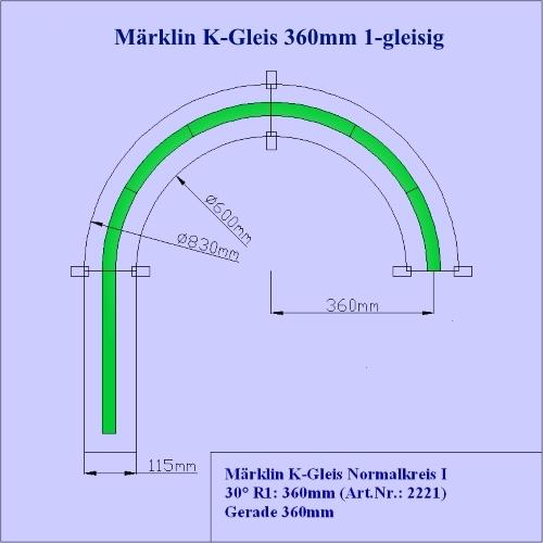 Gleiswendel 2 Ebenen Spur H0 für Märklin C-Gleis R1 und R2 zweigleisig C-Gleise